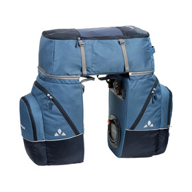 VAUDE Karakorum Bike Pannier 3-Piece blue